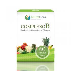Complexo B - 450 mg - 60 comprimidos - Nutreflora -