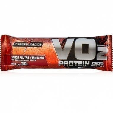 Vo2 Proteinbar 30g - Integralmedica - Frutas Vermelhas Com Iogurte