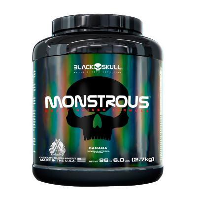 Monstrous Gainer 2.7kg Manteiga de Amendoim Black Skull