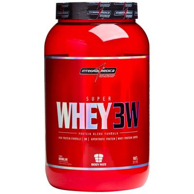 Super Whey 3W 907g - Integralmedica - Chocolate